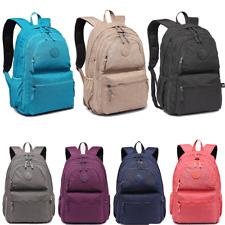 63715a2f59ee Ladies Girls Oilcloth Flower School Bag Travel Backpack Tote Shoulder Bag