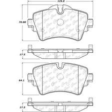 Premium Ceramic Pads w/Shims fits 2015-2016 Mini Cooper  CENTRIC PARTS