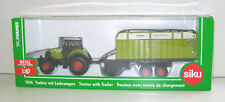 SIKU FARMER 1:87 Scale 1846 CLAAS AXION 850 TRACTOR with QUANTUM 5700S TRAILER