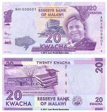 Malawi 20 Kwacha 2012 P-57 Prefix AH Banknotes UNC