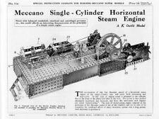 Hobby Costruzioni Meccano Supermodels 11A Single Cylinder Horizontal Engine  DVD