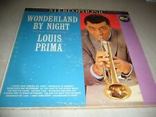 LOUIS PRIMA WONDERLAND BY NIGHT PRETTY MUSIC VOL 2 LP VG+ Dot LPS 75500 1960