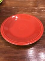 "Fiesta Plate Rust Brown HOMER LAUGHLIN Fiestaware 7.25"" Salad Bread Plate"