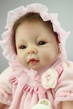 New Handmade Vinyl Silicone Reborn Baby dolls Lifelike Doll Baby Toys Nancy Gift
