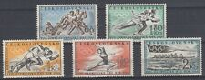 """Czechoslovakia - 1960 """"Olympic Games in Squaw Valley and Rome"""" (MNH)"""