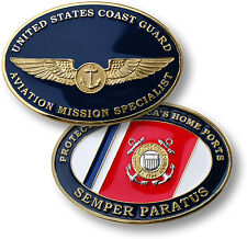U.S. Coast Guard / Aviation Mission Specialist - USCG Challenge Coin