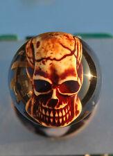 "Custom Hand Made Arcade Stick Joystick Sanwa Ball Top ""Lighted Skull"""