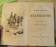 1806 l'Armée Française en Allemagne 50 dessins de Dick de Lonlay 1889 infanterie