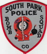 SOUTH PARK POLICE BOMB SQUAD COLORADO CO PATCH