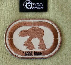 Genuine Orca Industries Patch Echo Base Stars Wars AT-AT Walker Patch Sci Fi
