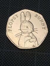 Flopsy bunny 50p coin 2018 Beatrix Potter