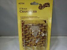 "Vintage 1"" Scale Dollhouse Chandelier 12 Volt NICE"
