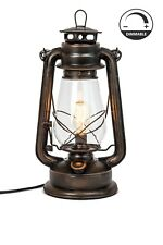 Rustic Farmhouse Lighting-Lantern Table Lamp -Muskoka Lifestyle Products USA