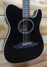 NEU Fender ® Standard telecoustic Akustik Gitarre Schwarz