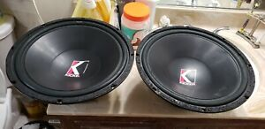 Kicker f15a old school free-air subs USA MADE