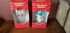 Two boxes of Christopher Radko Ornaments Target Holiday Celebration NIP - lot 1
