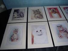 Mounted Louis Wain Cat Prints