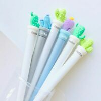 Stationery Potted Cactus Pen Novelty Succulent Plants Writing Pencil Accessories