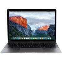 """Apple 2016 12"""" MacBook Retina Core m5 1.2GHz 8GB 500GB HDD A1534 MLHC2LL/A Grd B"""