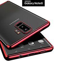 Coque pour Samsung Galaxy Note 8 TPU Original Galvanoplastie Slim Douce