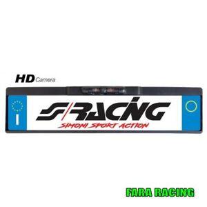 Simoni Racing SPS/9 Portatarga con videocamera di parcheggio
