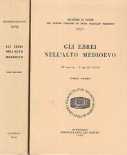 Gli juifs dans'Alto Moyen-Age. 2 Voll. Centre Italien des études sur'alto M. CC2