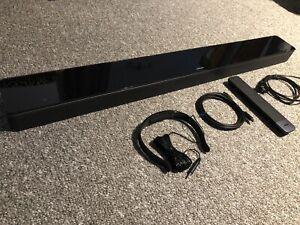 Bose 700 Soundbar Wi-Fi Bluetooth Black Premium Glass Top