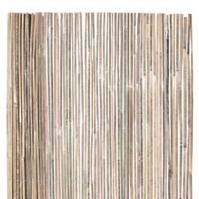 Bamboo Slat Fencing 6 ft. H x 16 ft. L Natural Raw Split Home Garden Landscape