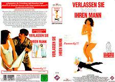 VHS -- Verlassen Sie bitte Ihren MANN -- (1993) - Elfi Eschke - Helmut Griem