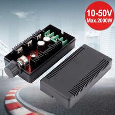 PWM DC Drehzahlregler 2000W 10V-50V 40A Motor Speed Controller Motorregler NEU~