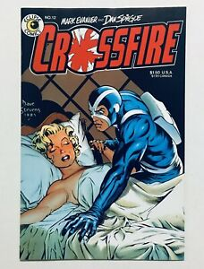 CROSSFIRE #12, Eclipse (1982), DAVE STEVENS, MARILYN MONROE Cover, NM, 9.2-9.4