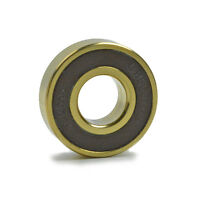 OMNI Racer Worlds Lightest TiN Titanium Ceramic Bearing: 6001, 61001 12x28x8mm
