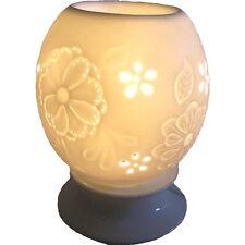 LAMPE BRULE PARFUM SPHERE PORCELAINE