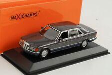 Mercedes-Benz  560 SEL V126 1990 purple metallic diecast 1:43 Minichamps Maxicha