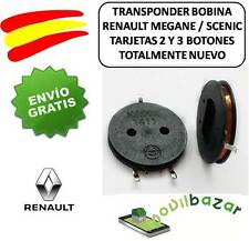 TRANSPONDER BOBINA TARJETA RENAULT MEGANE SCENIC CHIP COIL CARD KEY