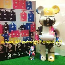 Bearbrick Medicom 2019 Andy Warhol Colored Double Mona Lisa 100% 400% Be@rbrick