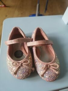Baby Girls Party Shoes Size infant  6