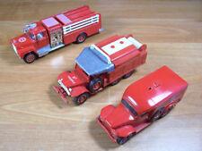 Solido, 1/60, 3 Véhicules métal de Sapeurs-Pompiers : 1 Mack, 2 Dodge