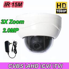 2.5'' 3X ZOOM HD 1080P 2.0MP PTZ CVBS-AHD-TVI-CVI Dome Security Camera IR Night