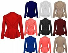 Unbranded Cropped Casual Blazer for Women