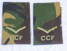 Rango cinghie: lance Corporal, CCF, DPM, Combined Cadet Force, COPPIA, 60x95mm