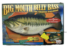 VTG ( Big Mouth Billy Bass) Motion-Activated Singing Fish 1999 Gemmy W/Box