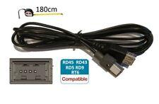 Cable USB pour Autoradio Peugeot Citroen RT6 RD5 RD45 RD43 AUX PSA