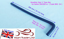 MOTORCYCLE ROYAL ENFIELD BREATHER PIPE 'L' TYPE BIG BULLET 350/500CC (SRE35)