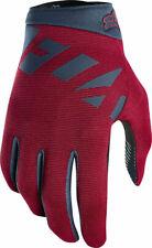 Fox Racing Ranger Full Finger MTB Gloves Men's Large Cardinal Red/Blue