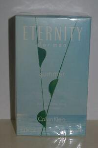 ETERNITY FOR MEN SUMMER by Calvin Klein Eau de Toilette Spray 3.4 oz Cologne