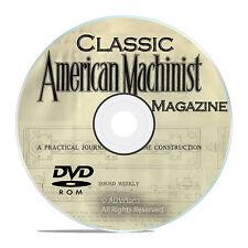 Classic American Machinist Magazine Collection, Machinist Guide Books DVD V27