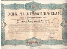 Ferrovie Napoletane  1926  Neapel Napoli