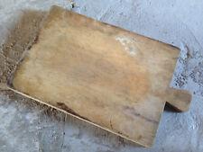 Ancienne grande planche à découper en bois de cuisine vintage cutting board