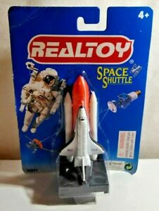 REALTOY DIECAST SPACE SHUTTLE WITH BOOSTER & LAUNCH PAD - SEALED BLISTER PACK